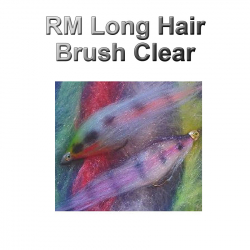 RM Long Hair Brush Clear