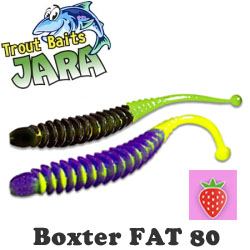 Trout Baits Jara Boxter Fat 80 (Bubble Gum)