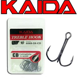 Kaida Treble Hook 6069-3x-cd