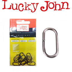 Lucky John Oval Split Ring