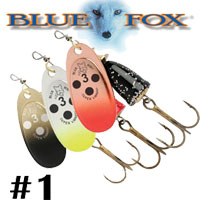 Blue Fox Vibrax Bullet Flake #1 (BFFL1)