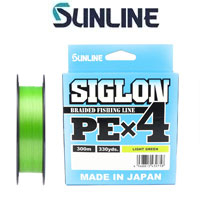Sunline Siglon PEx4 Light Green 300m