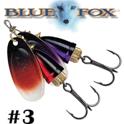 Blue Fox Northern Lights Vibrax 3 BFNL3