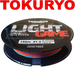 Tokuryo Light Game X4 5-Multi PE 150m