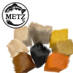 Metz Elk Body Hair Dyed