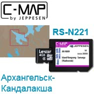 Карта C-MAP Lowrance RS-N221