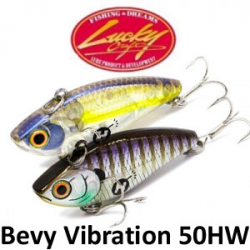 Lucky Craft Bevy Vibration 50HW