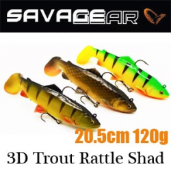 Savagear 3D Trout Rattle Shad 20.5 120g