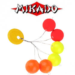 Стопоры Mikado Trout Campione Float Balls пенопл., круглые