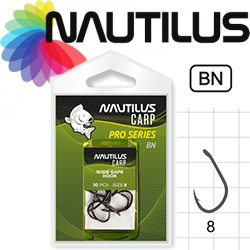 Nautilus Pro Series Wide Gape Hook BN