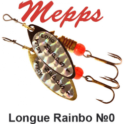 Mepps Long Rainbo №0
