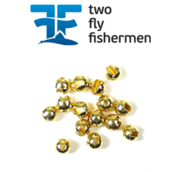 TFF Tungsten Beads Slotted Gold Вольфрамовые головки