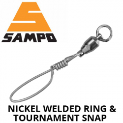 Sampo Nickel Welded Ring & Tournament Snap