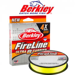 Berkley Fireline Ultra 8 Fluo Green 300m