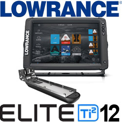 Lowrance Elite-12 Ti2 ROW Active Imaging 3-in-1