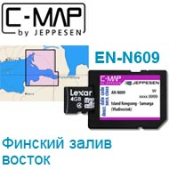 Карта C-MAP Lowrance EN-N609
