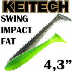 Keitech Swing Impact Fat 4.3""