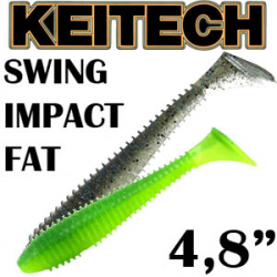 Keitech Swing Impact Fat 4.8""