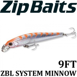 ZipBaits ZBL System Minnow 9FT