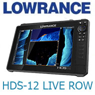 Lowrance HDS-12 LIVE ROW Active Imaging 3-in-1 (000-14431-001)