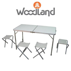 Woodland Picnic Table Set