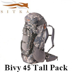 Sitka Bivy 45 Tall Pack Optifade Open Country