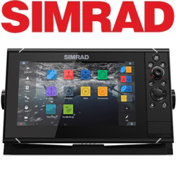 Simrad NSS9 evo3 with world basemap