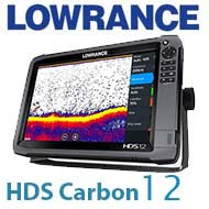 Lowrance HDS-12 Carbon No Transducer