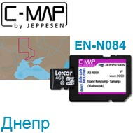 Карта C-MAP Lowrance EN-N084