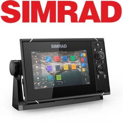 Simrad NSS7 evo3 with world basemap