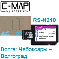 Карта C-MAP Lowrance RS-N210