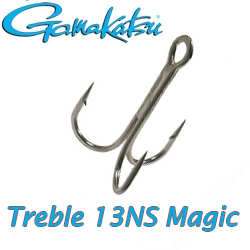 Gamakatsu Treble 13NS Magic Eye