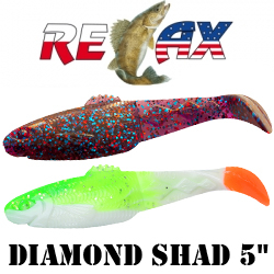 "Relax Diamond Shad 5"" 12.5см"