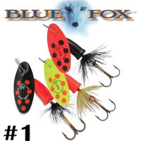 Blue Fox Vibrax Bullet Fly #1 (VBF1)