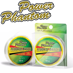 Power Phantom Fluorocarbon 50м