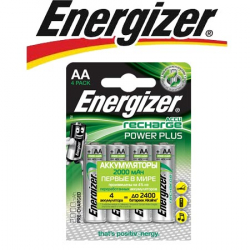 Energizer Power Plus NH15/AA 2000 BP4 Pre-Ch 1.2V