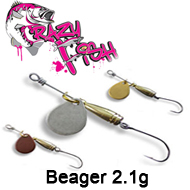 Crazy Fish Beager 2.1g
