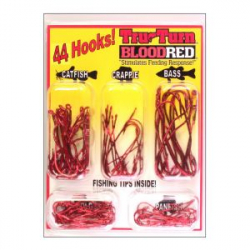 Набор крючков Tru-Turn Original Cam-Action Hook blood red