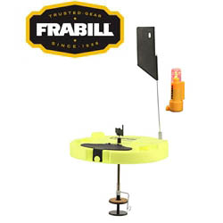 Frabill Pro Thermal Tip-Up yellow W/ LIL' Shiner