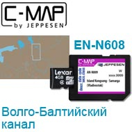Карта C-MAP Lowrance EN-N608