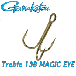 Gamakatsu Treble 13B Magic Eye
