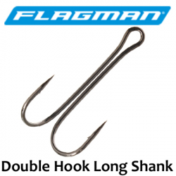 Flagman Double Hook Long Shank