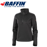 Baffin Women's Half-Zip Black