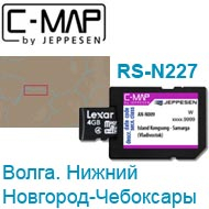 Карта C-MAP Lowrance RS-N227