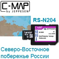 Карта C-MAP Lowrance RS-N204