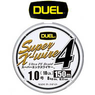 Duel PE Super X-Wire 4 200m 5Color