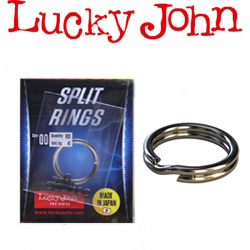 Lucky John Pro Series Split Rings (арт. LJP5450)