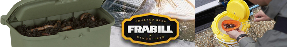 Frabill Belt Bait Storage Box #4724
