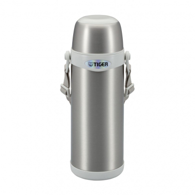 Термос Tiger MBI-A100 Clear Stainless White 1.0 литра