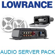 Lowrance Audio server Pack (Server+BT+SPKRS)